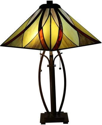 320491 Sheen 2-light Multi-color 26-inch Tiffany-style Table Lamp in
