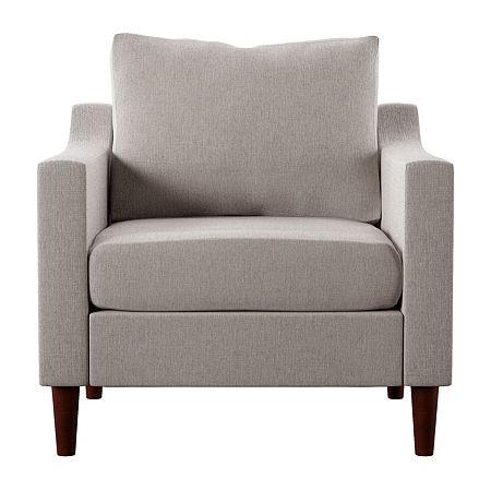 Southern Enterprises Radam Chair Armchair, One Size , Beige