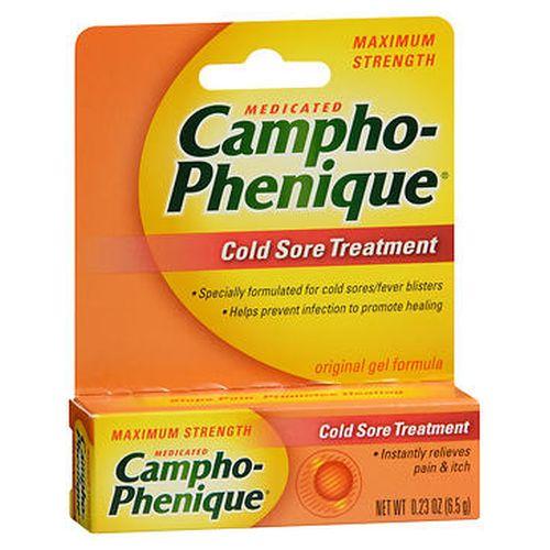 CamphoPhenique Cold Sore Treatment Original Gel Formula 0.23 Oz by CamphoPhenique