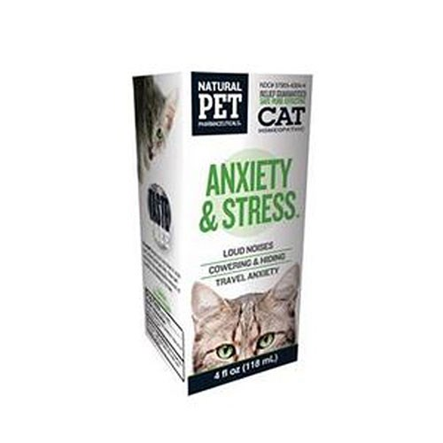 Anxiety and Stress for Cat 4 oz by King Bio Natural Medicines