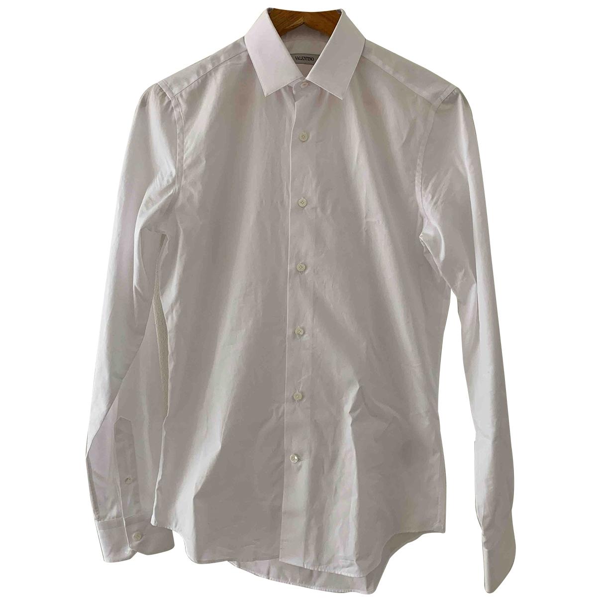 Valentino Garavani \N Hemden in  Weiss Baumwolle