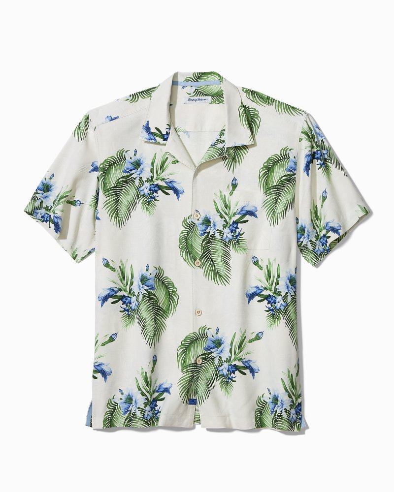 Big & Tall Nassau Blooms Camp Shirt
