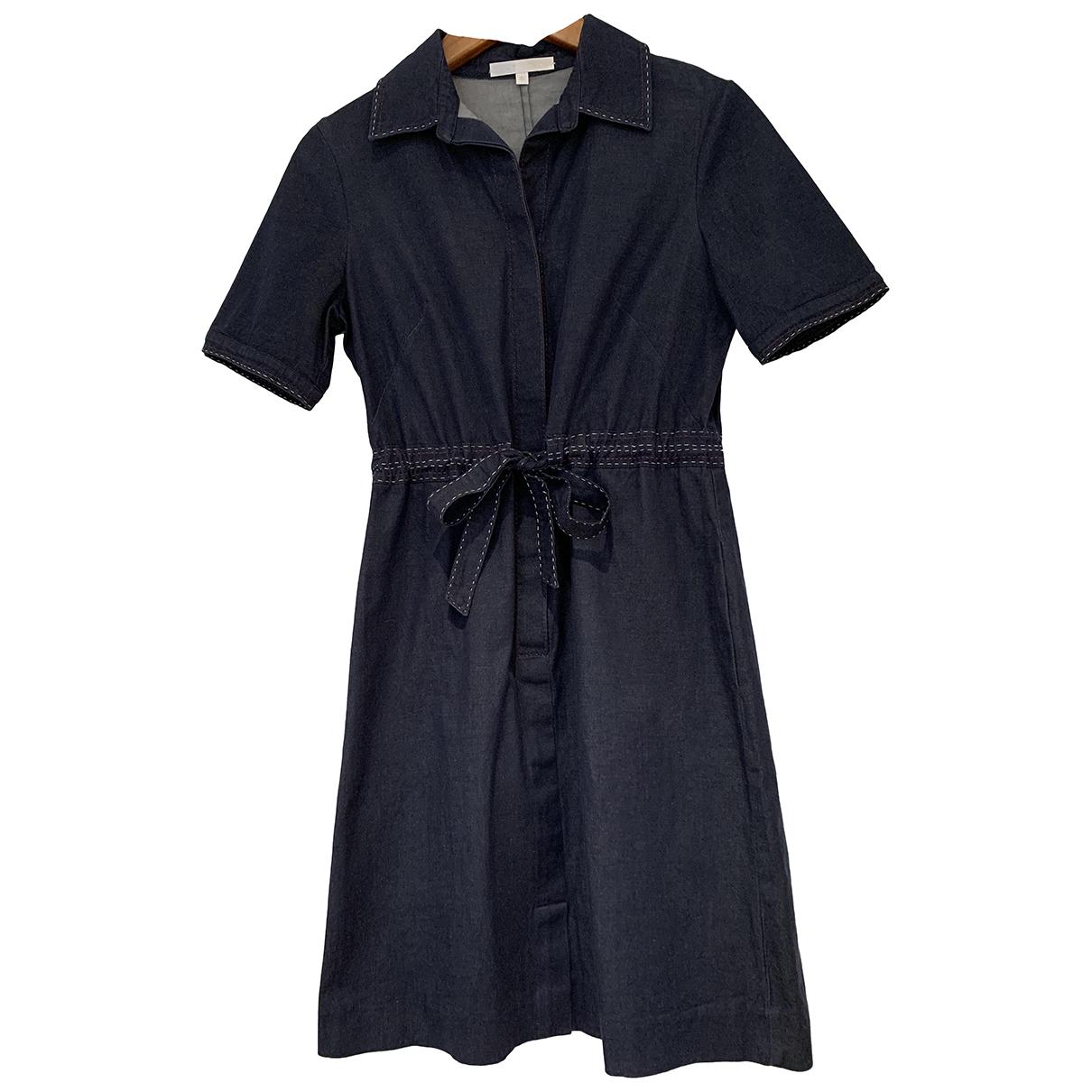 Paule Ka - Robe   pour femme en coton - marine