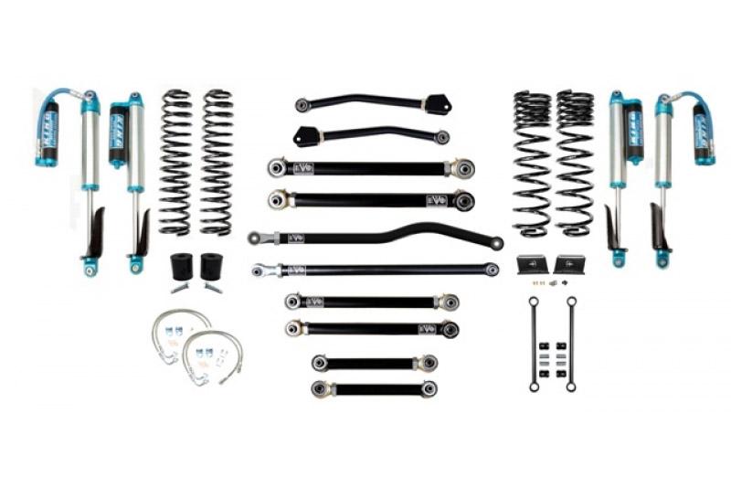 Jeep Gladiator JT 2.5 Inch Lift Kit 2020-Pres Gladiator Enforcer Lift Stage 4 Plus w/ EVO SPEC 2.5 King Shocks EVO Mfg