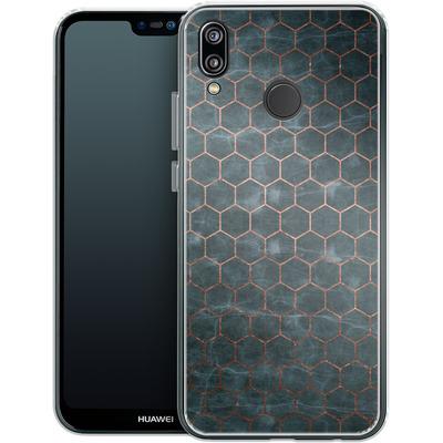 Huawei P20 Lite Silikon Handyhuelle - Marble Mermaid Pattern von #basic