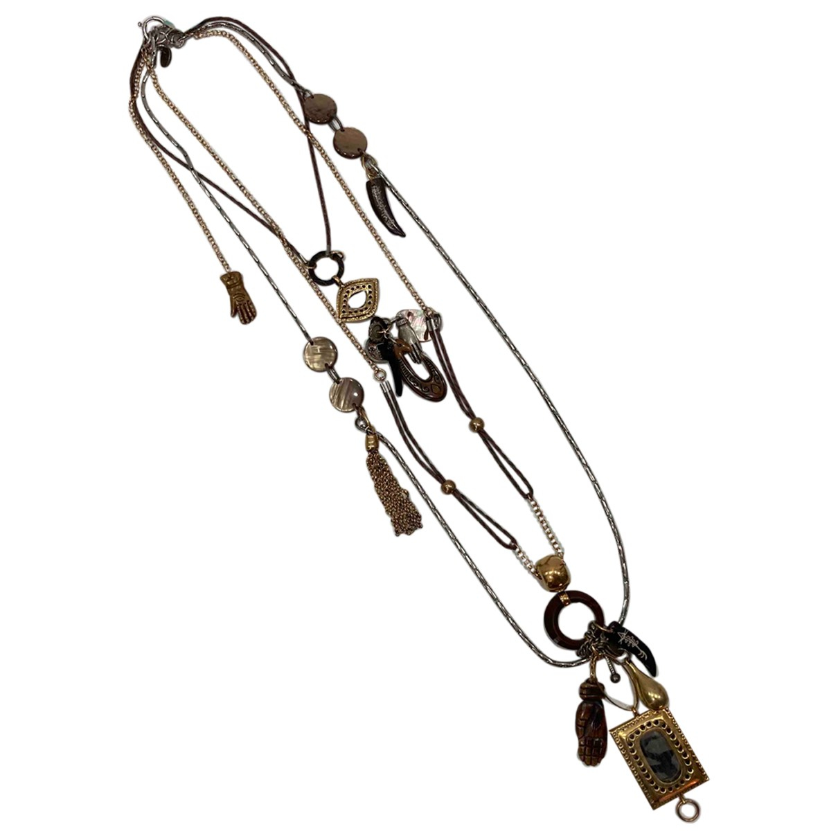Reminiscence \N Metal Long necklace for Women \N