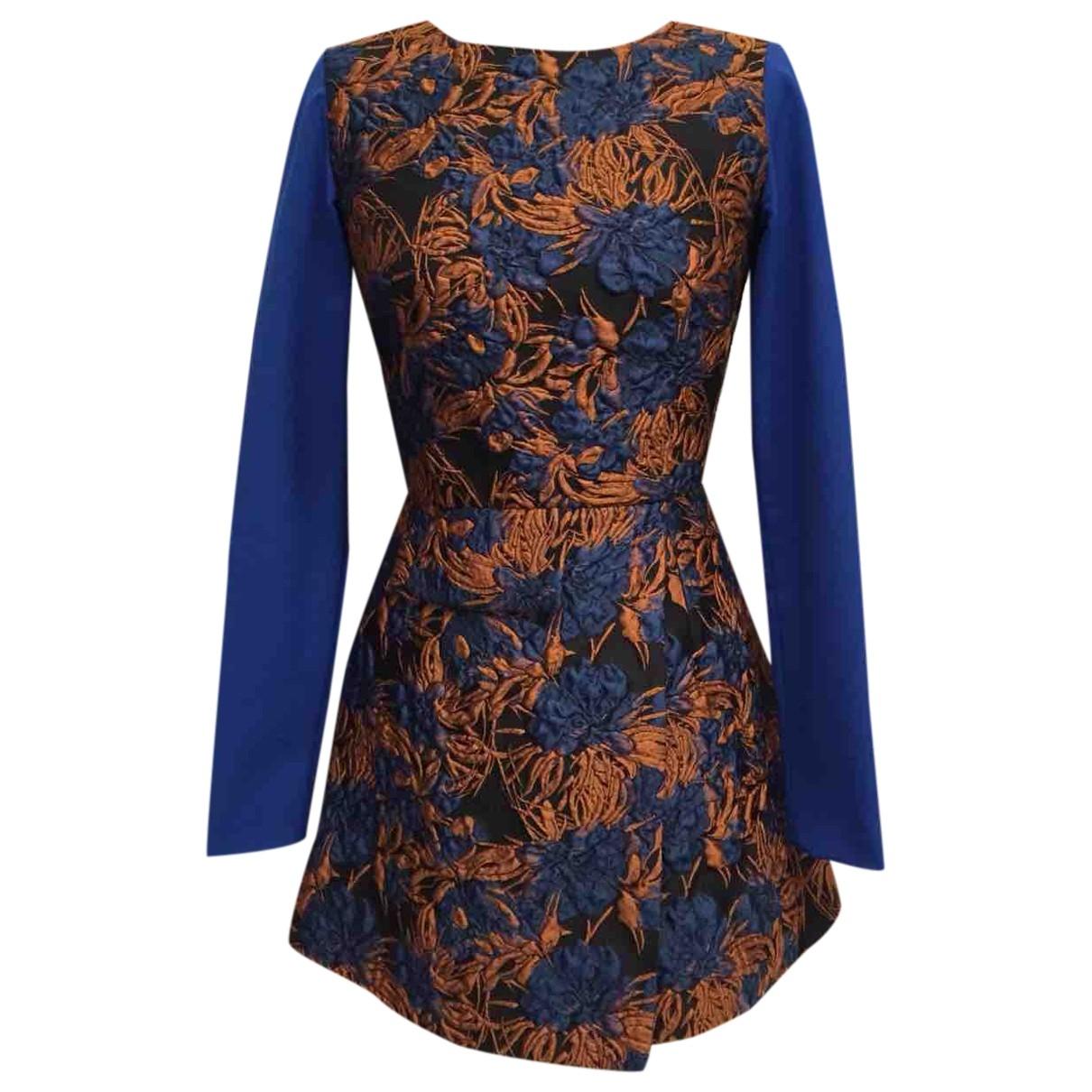 A-lab Milano \N Kleid in  Blau Wolle