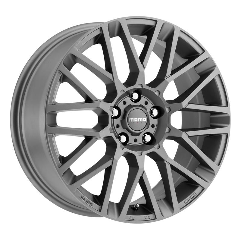 Momo Revenge Matte Anthracite Wheel 16x7 5x114.3 42