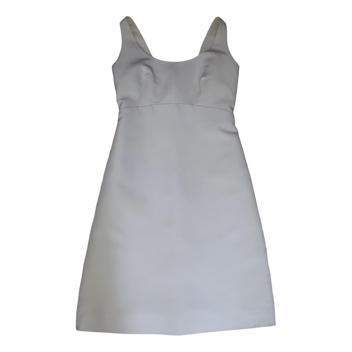 Balenciaga - Robe   pour femme en soie - ecru