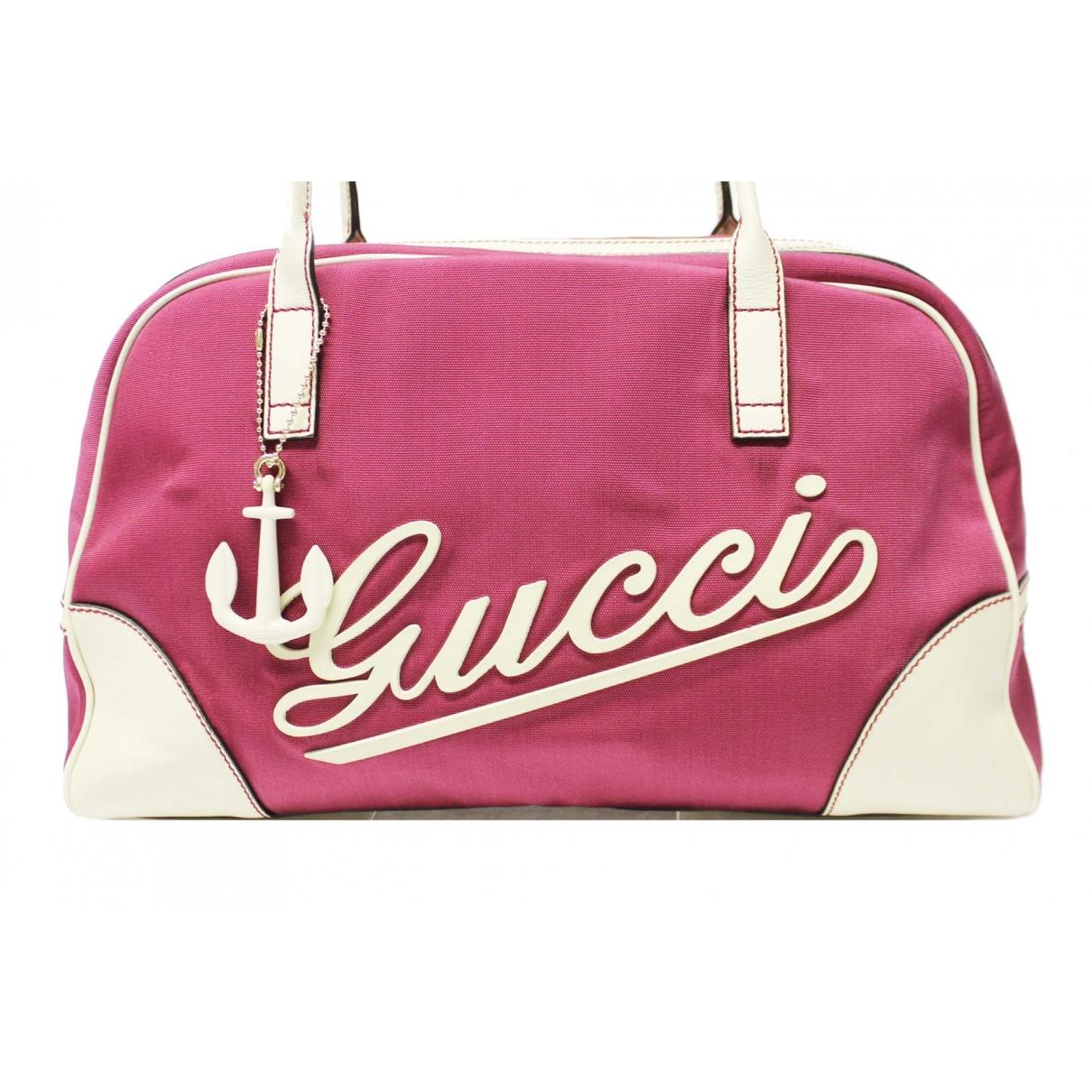 Gucci \N Pink Cloth handbag for Women \N
