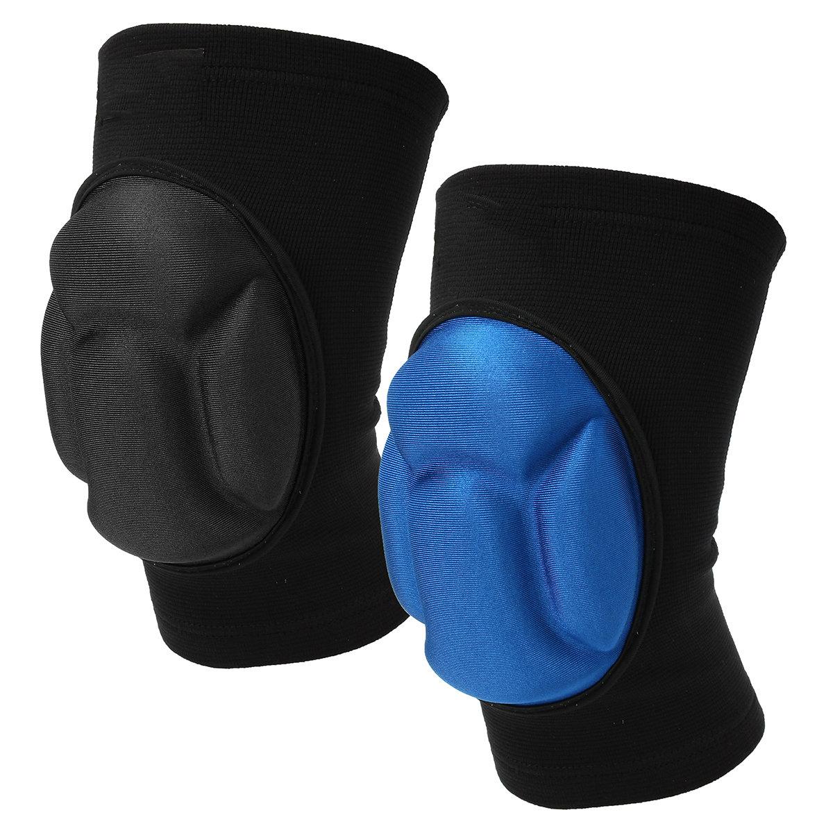 1 Pair Thickening Knee Pad Sports Anti-Collision Kneeling Knee Protect Pads Knee Brace Protector
