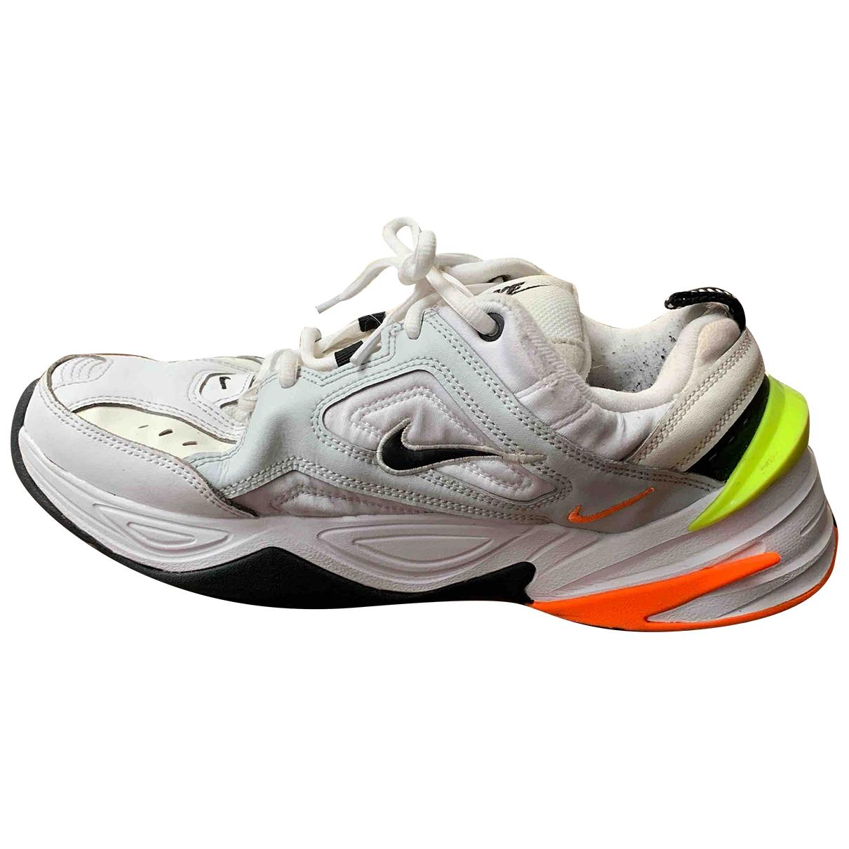 Nike M2K Tekno White Leather Trainers for Men 8 UK