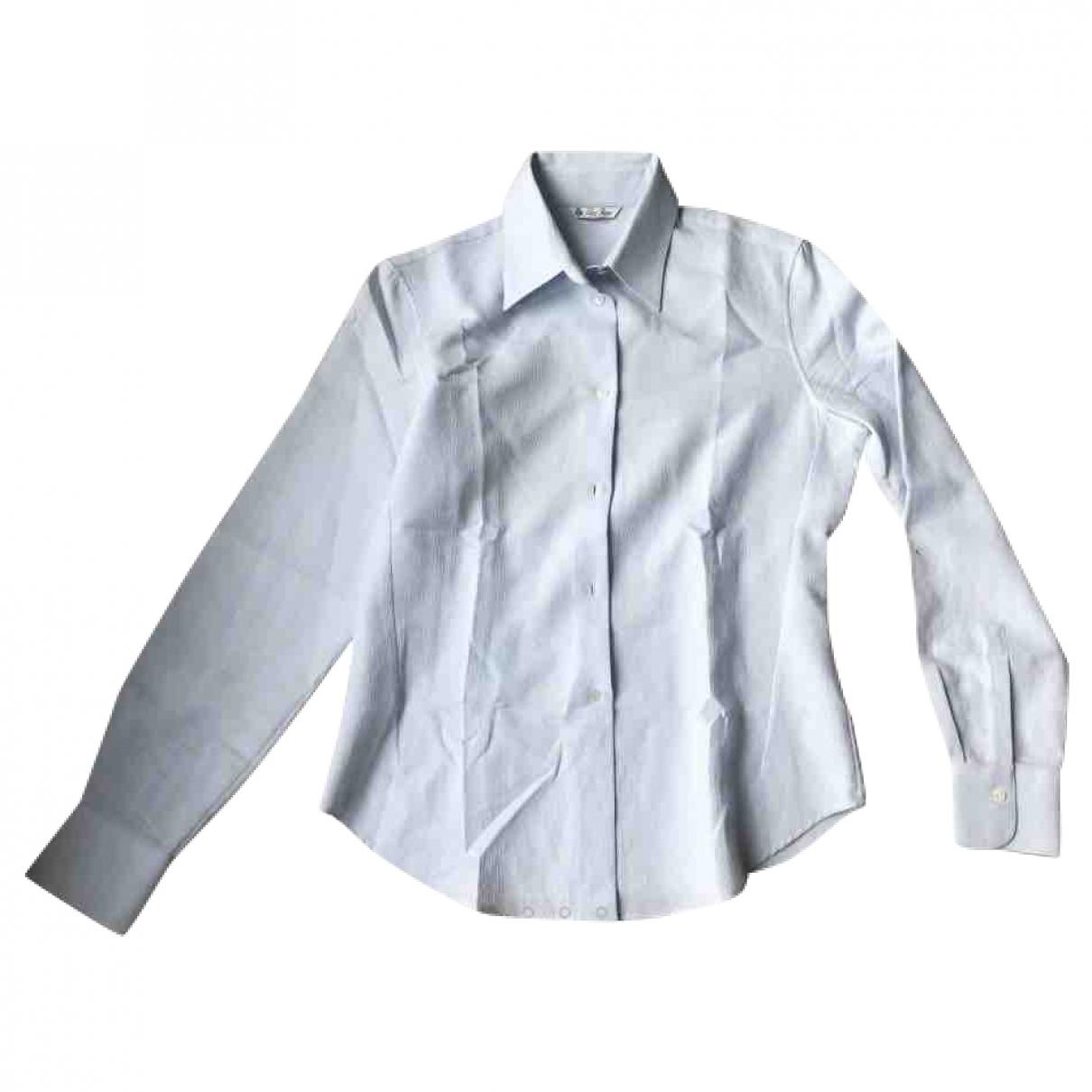 Loro Piana \N Blue Cotton  top for Women 42 IT