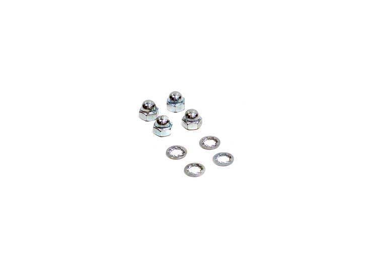 K&N 85-5015 Dome Nuts/Washers