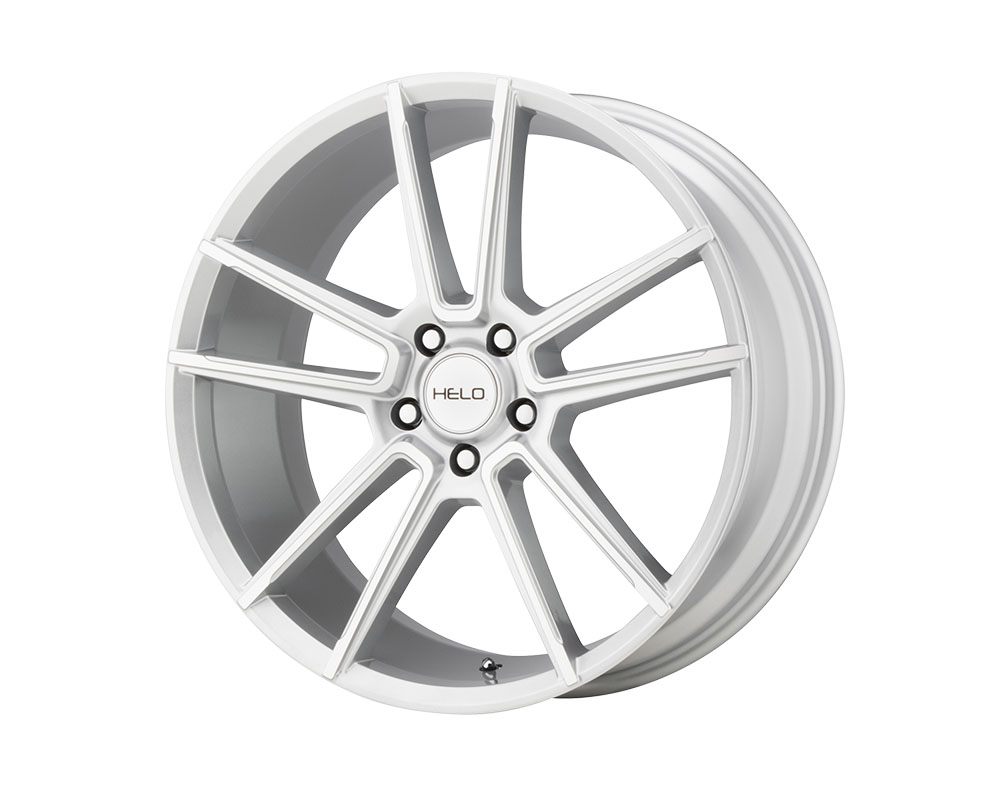 Helo HE911 Wheel 17x7 5x5x114.3 +38mm Silver Machined