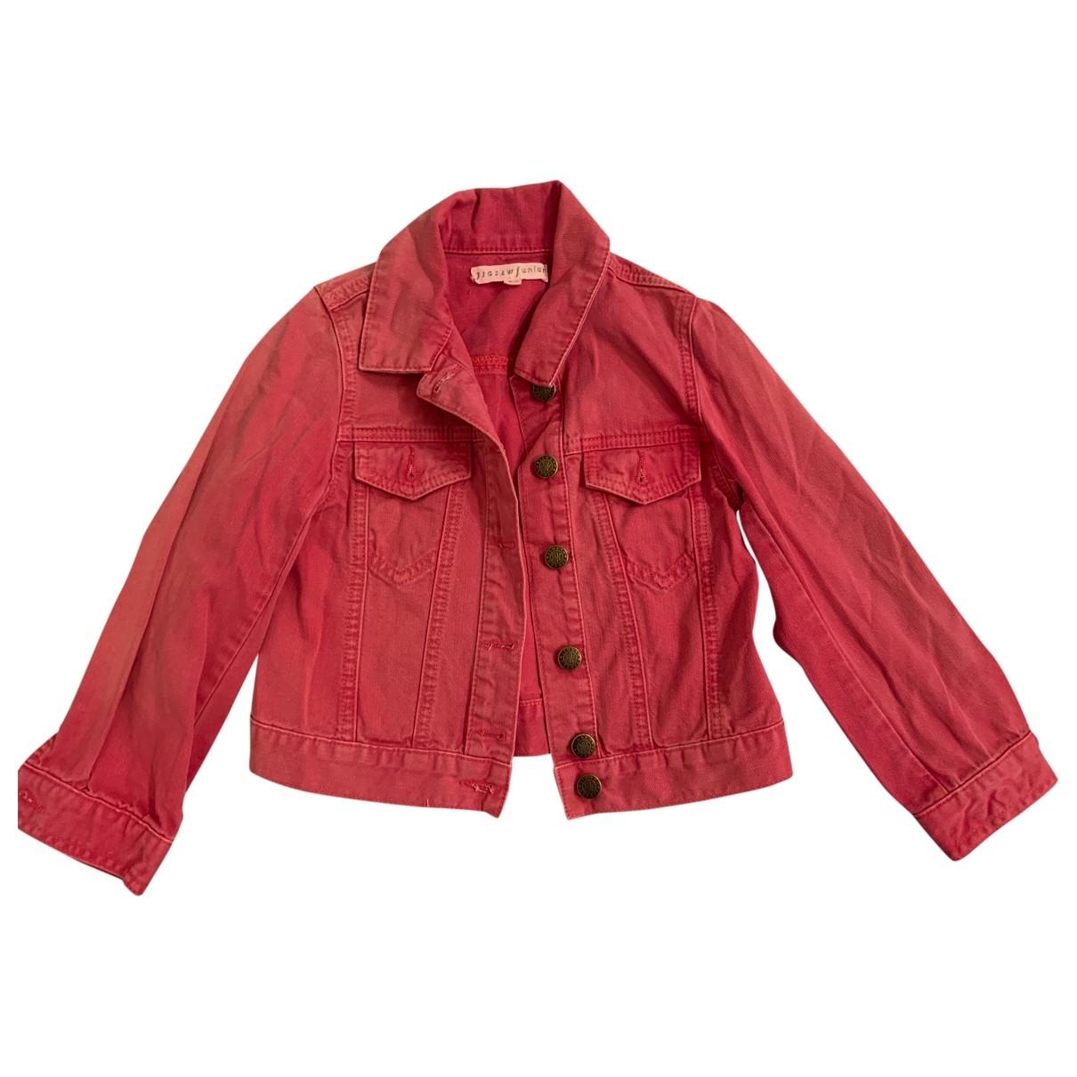 Jigsaw - Blousons.Manteaux   pour enfant en coton - rose