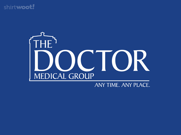 The Doctor Medical Group T Shirt