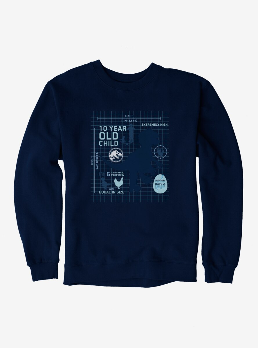 Jurassic World Blue Did You Know Sweatshirt