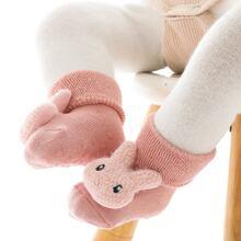 Baby Non-slip Socken mit Puppe Dekor