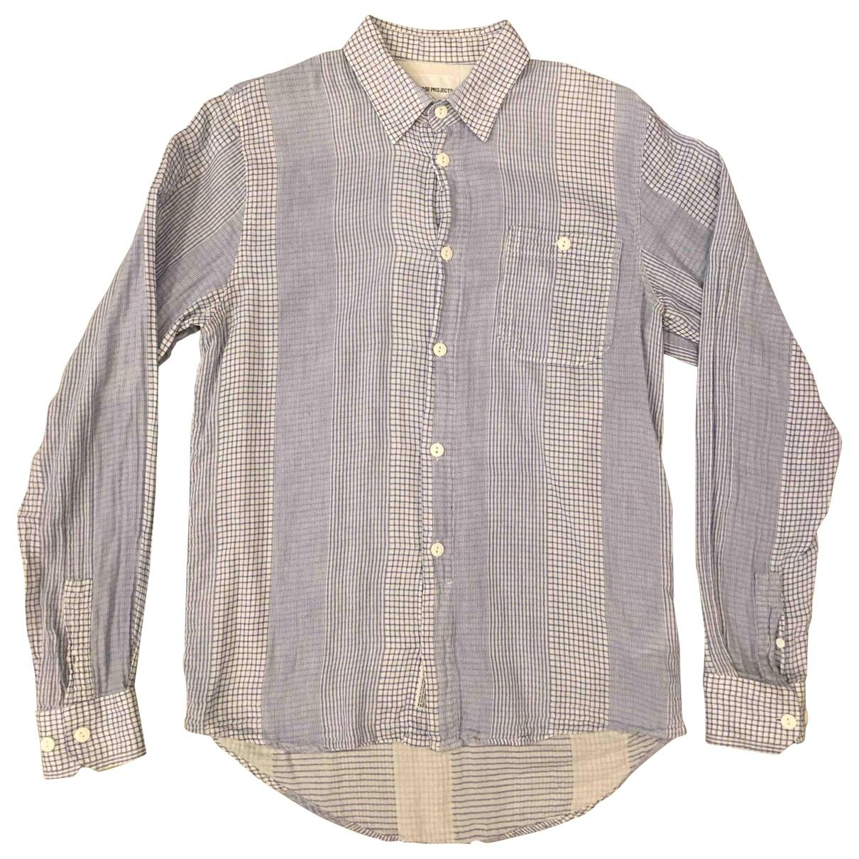 Norse Projects - Chemises   pour homme en coton - ecru