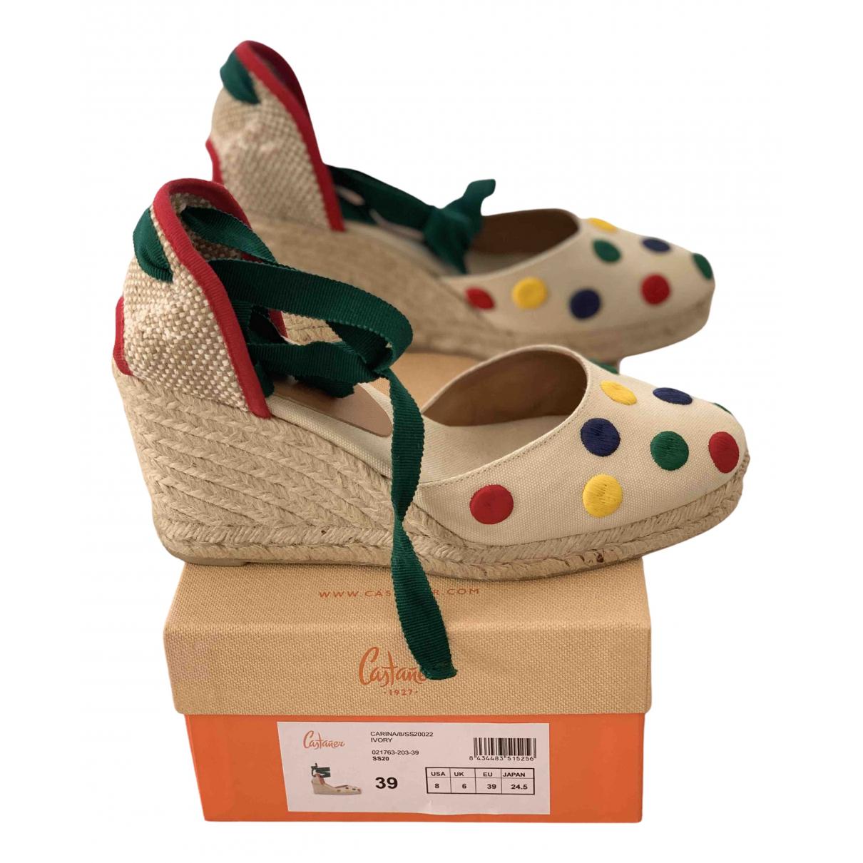 Castaner - Espadrilles   pour femme en toile - multicolore
