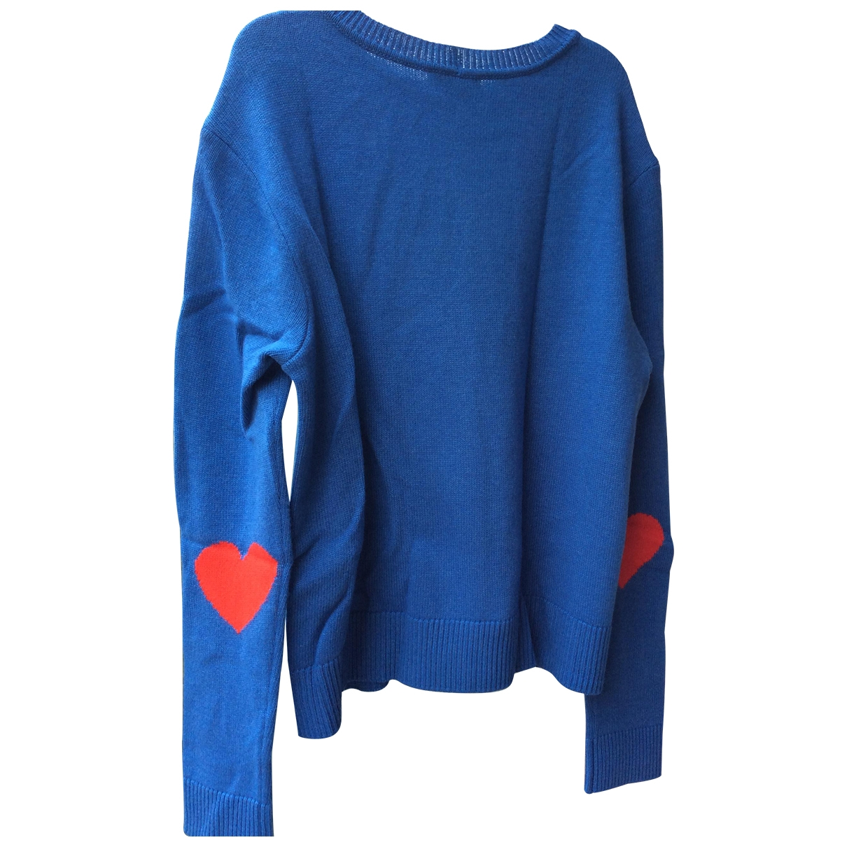 Red Valentino Garavani - Pull   pour femme - bleu