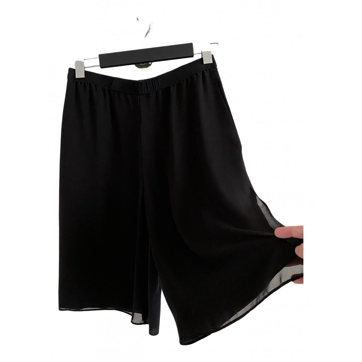 All Saints \N Shorts in  Schwarz Seide