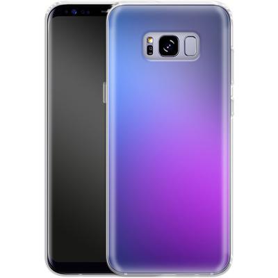 Samsung Galaxy S8 Plus Silikon Handyhuelle - Blueberry von #basic