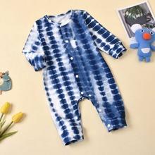 Baby Boy Tie Dye Jumpsuit