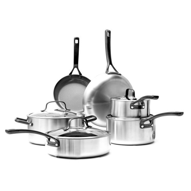 Napa Ceramic Non-Stick 10-Piece Cookware Set