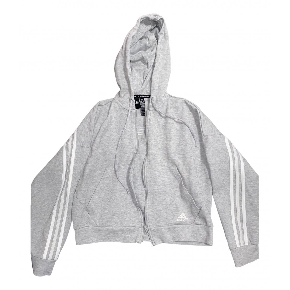 Adidas \N Grey Cotton jacket for Women M International