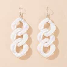 Chunky Chain Drop Earrings