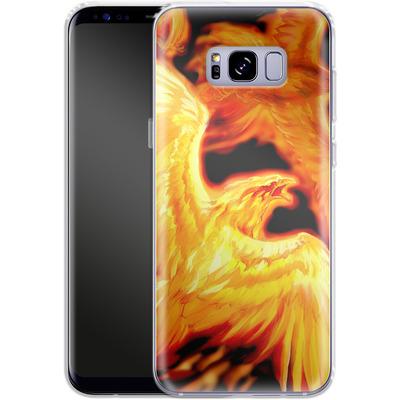 Samsung Galaxy S8 Plus Silikon Handyhuelle - Ruth Thompson - Phoenix Dawn von TATE and CO