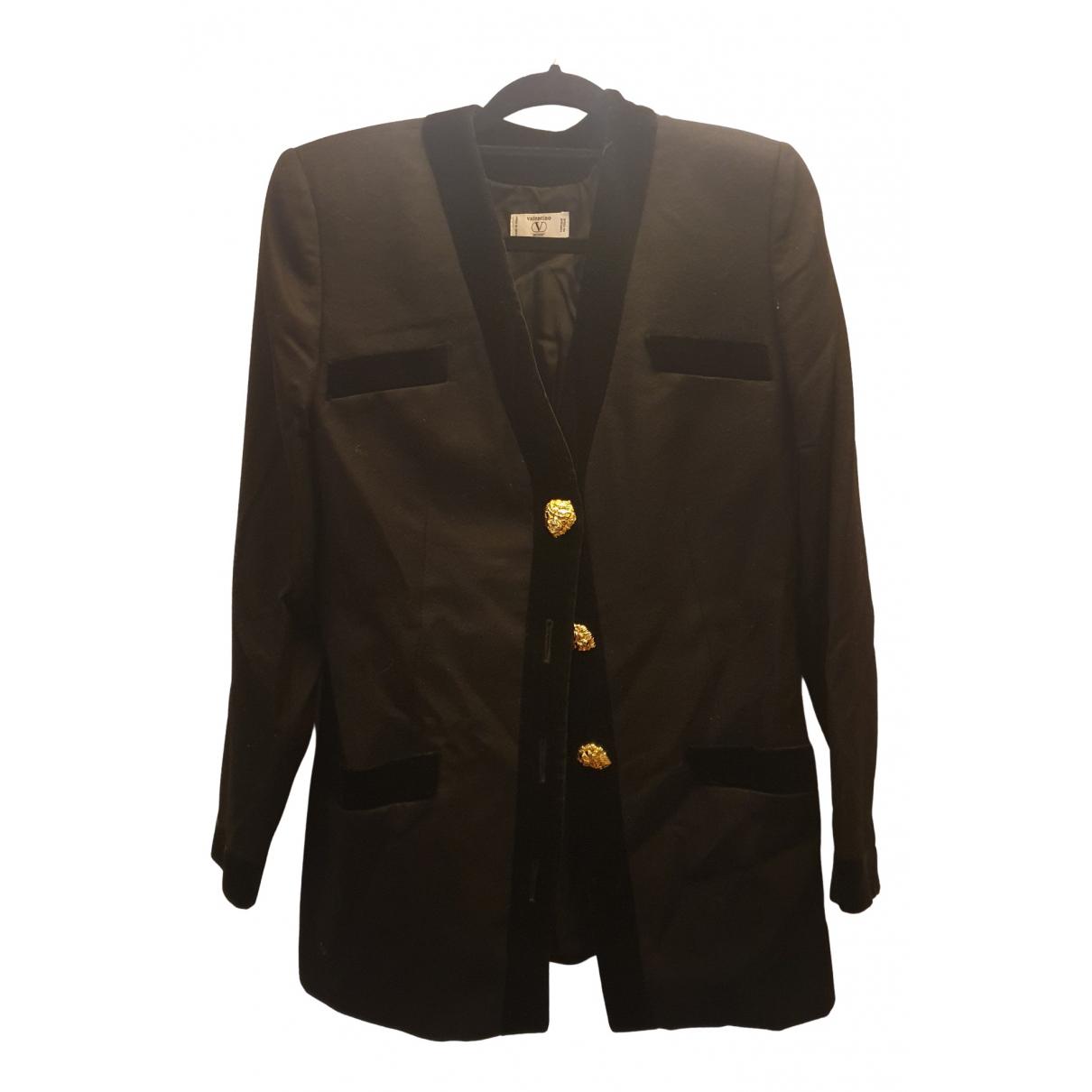 Valentino Garavani - Veste   pour femme en laine - noir