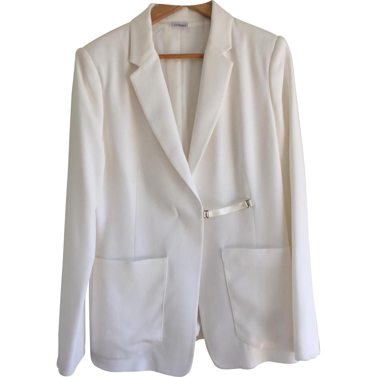 La Perla \N White jacket for Women 44 FR