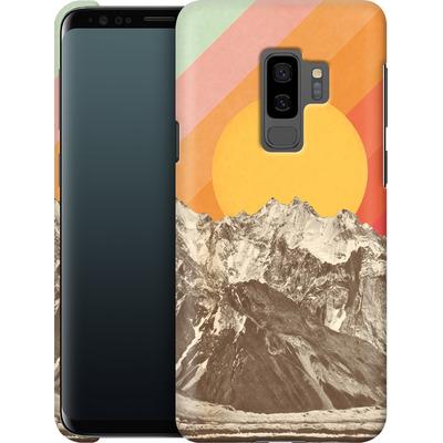 Samsung Galaxy S9 Plus Smartphone Huelle - Mountainscape von Florent Bodart
