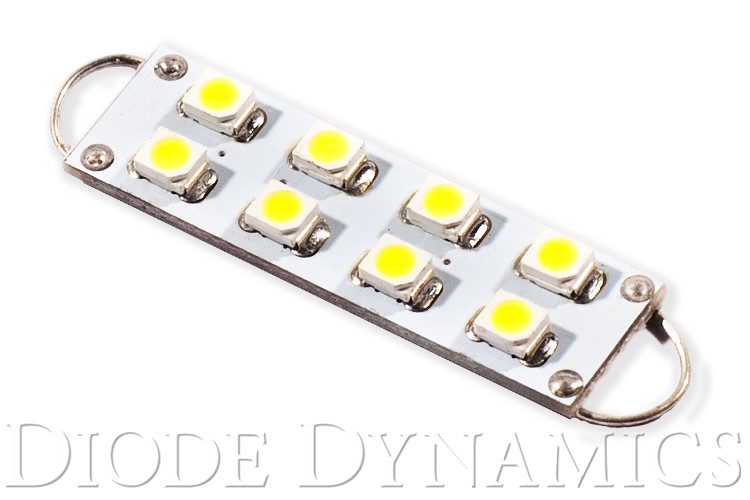 Diode Dynamics DD0101S 44mm SML8 LED Bulb Red Single
