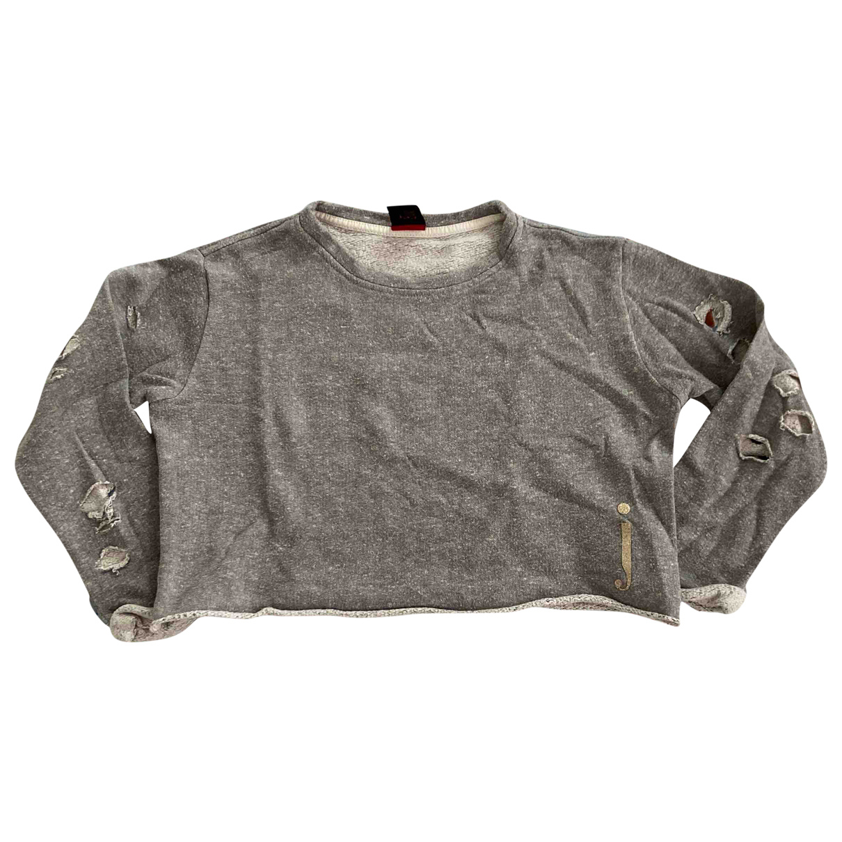 Jijil N Grey Cotton Knitwear for Kids 8 years - up to 128cm FR