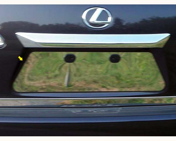 Quality Automotive Accessories 1-Piece License Plate Bezel Lexus RX Series 2013