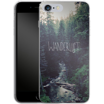 Apple iPhone 6s Plus Silikon Handyhuelle - Wanderlust - Rainier Creek von Leah Flores
