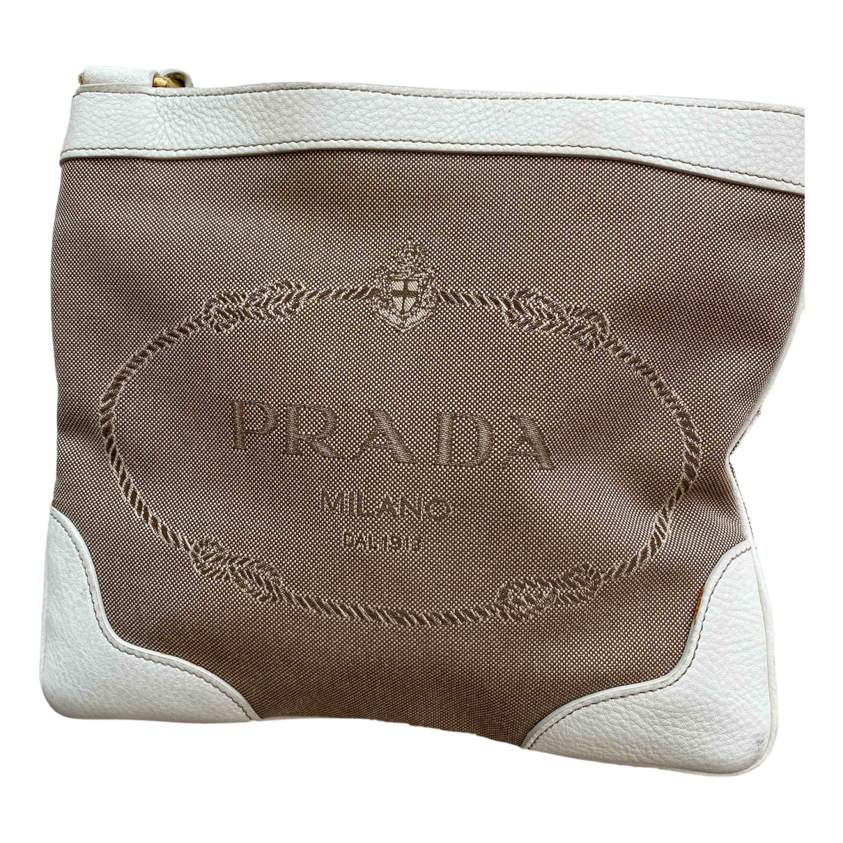Prada N Beige Cloth handbag for Women N