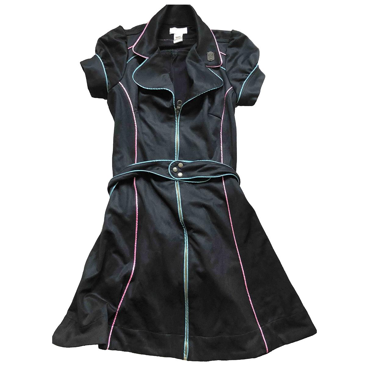 Diesel \N Black Cotton dress for Women 10 UK