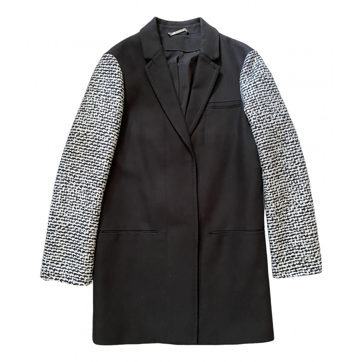 Diane Von Furstenberg \N Black Cotton jacket for Women 4 US