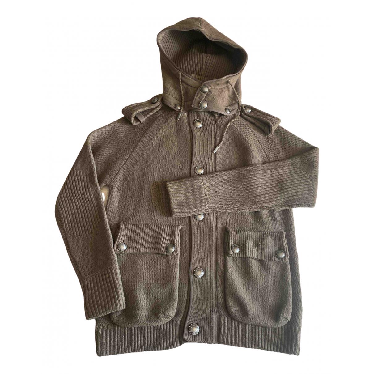 Burberry - Pulls.Gilets.Sweats   pour homme en laine - beige