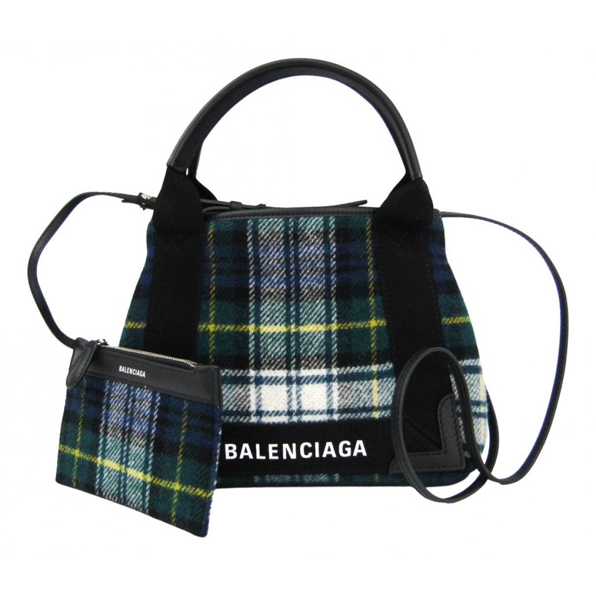 Balenciaga Navy cabas Multicolour Cloth handbag for Women N