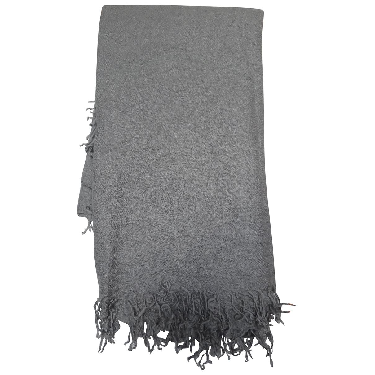Chan Luu \N Grey Cashmere scarf for Women \N