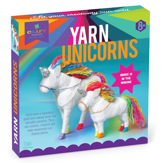 Craft-Tastic® Yarn Unicorns Kit | Michaels®