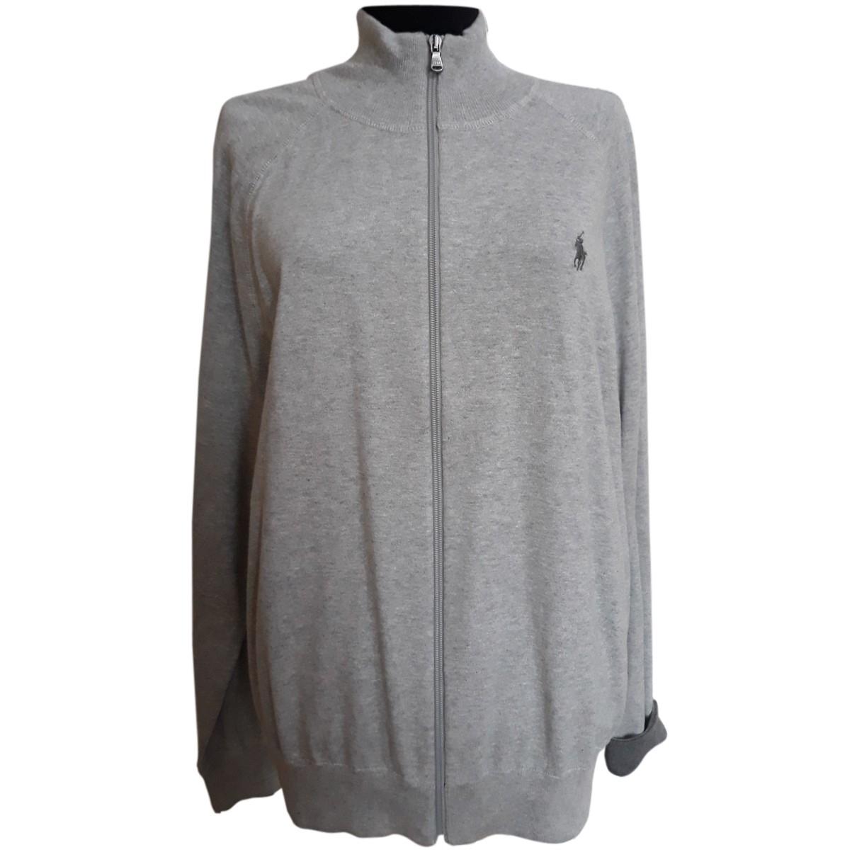 Polo Ralph Lauren N Grey Cotton Knitwear for Women L International