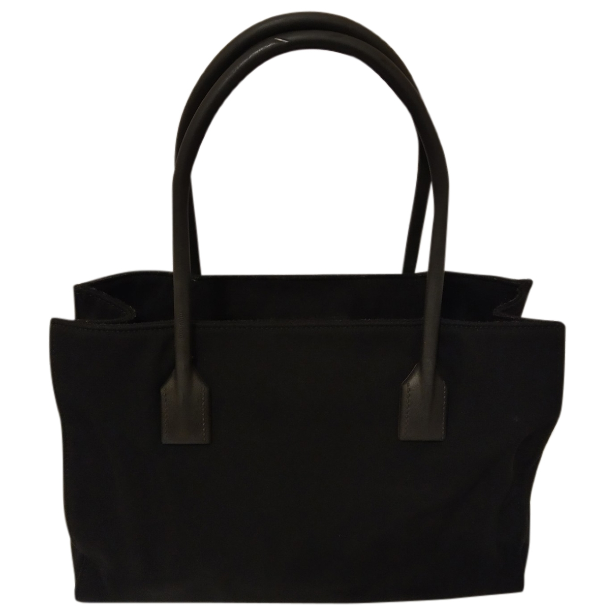 Miu Miu \N Black Cloth handbag for Women \N