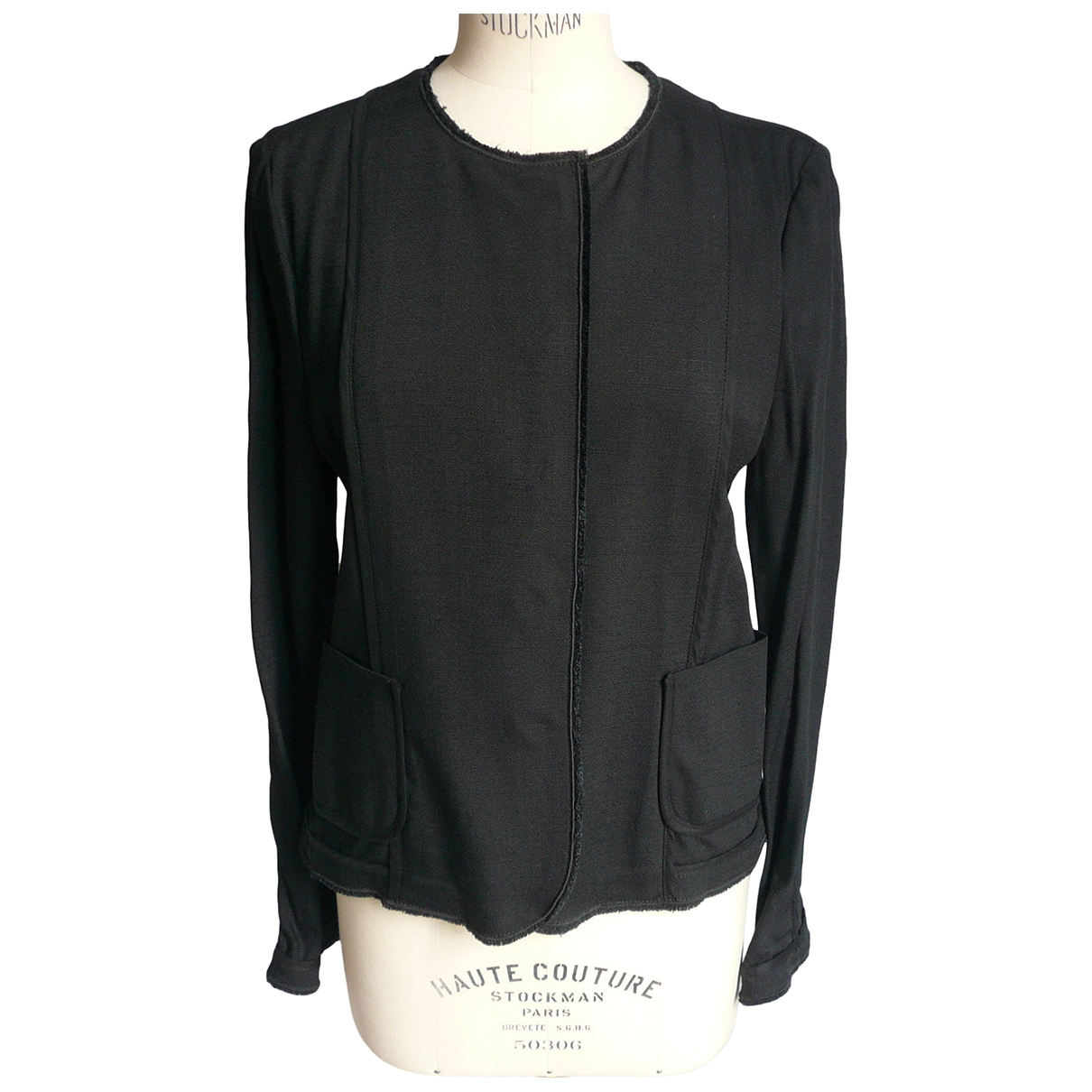 Dolce & Gabbana \N Black jacket for Women 46 IT